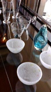 白神さんのガラス
